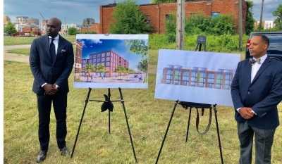 African-American Group Heads Two Residential Projects in Detroit's Brush Park