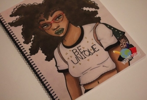 Women Creates Black Culture Themed Notebooks
