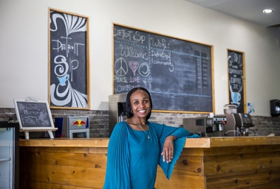Attorney Opens Coffee Shop as Community Hub in Detroit Neighborhood