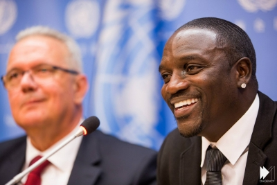 Rapper Akon Aims to Build Real Wakanda