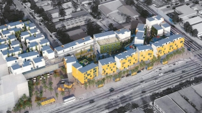 Redevelopment Project Proposed for South East L.A.